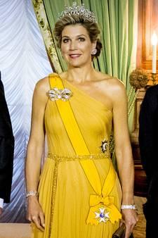 Koningin Máxima pakt in Luxemburg uit met Stuartdiadeem
