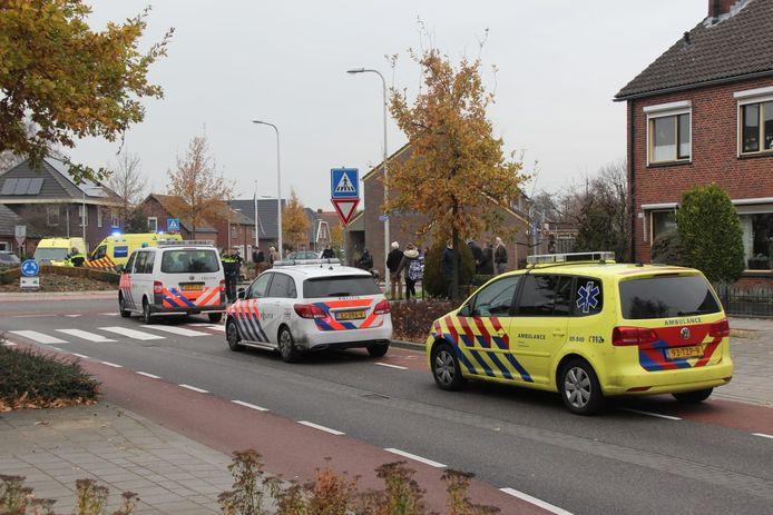 De hulpdiensten rukten massaal uit op 28 november 2018. Op de rotonde aan de Nijverheidsstraat in Rijssen werd de 5-jarige Ey-Linn overreden.