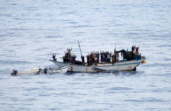 De EU houdt voor de kust van Somalië niet langer piraten, maar China op afstand