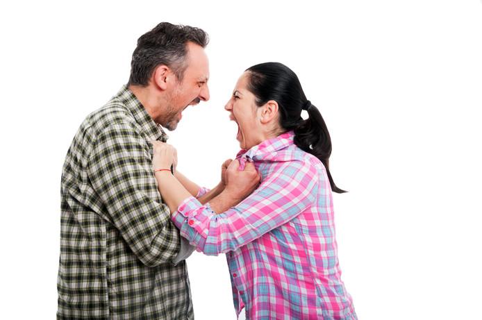 Vechtscheiding - ruzie - scheiding - vechten - stel