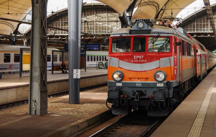 Station Wroclaw Glowny, het belangrijkste station van de Poolse stad.