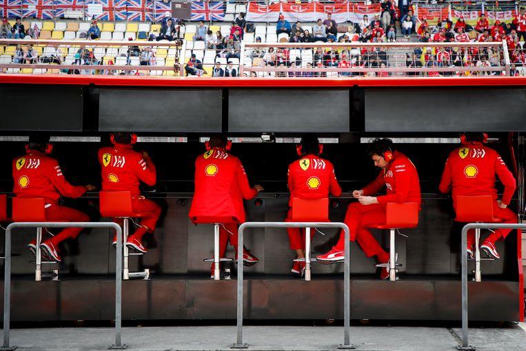 Kopzorgen bij Ferrari tijdens de GP van Sjanghai.