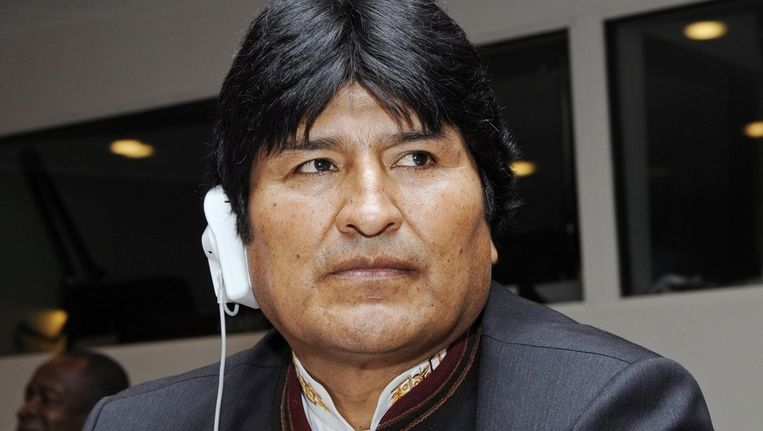 Eva Morales Beeld epa