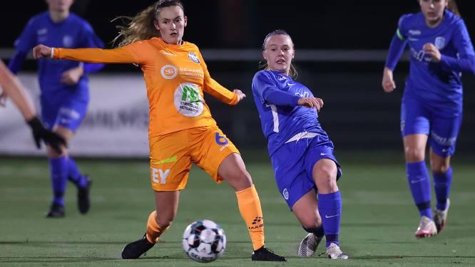 """Emma Van Britsom na winst AA Gent Ladies in Genk: """"Mijn goal was heel eigenaardig"""""""