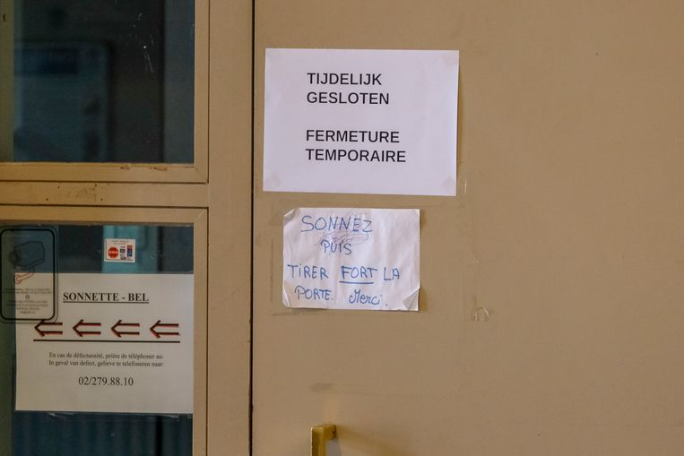 Het politicommissariaat in Laken is tijdelijk gesloten omdat te weinig agenten kwamen werken.