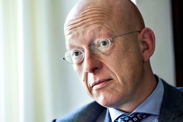 Burgemeester Maarten Houben van Nuenen.