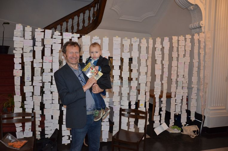 Steven Vrommans zoontje Timo (2) speelt een hoofdrol in zijn nieuwe boek.