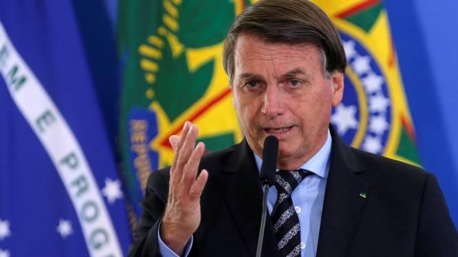 Braziliaanse president Bolsonaro (65) zal zich niet laten vaccineren