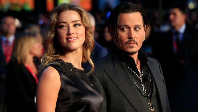 Amber Heard en Johnny Depp in betere tijden.