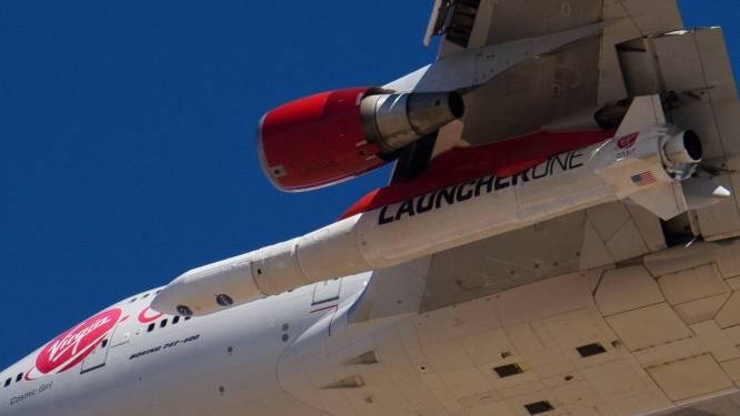Virgin Orbit stuurt raket vanaf vliegende Boeing de ruimte in