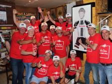Cees Bol bij NK gesteund door Belgische fanclub