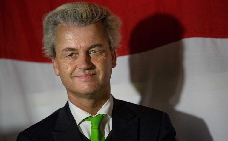 PVV-leider Geert Wilders. Beeld epa