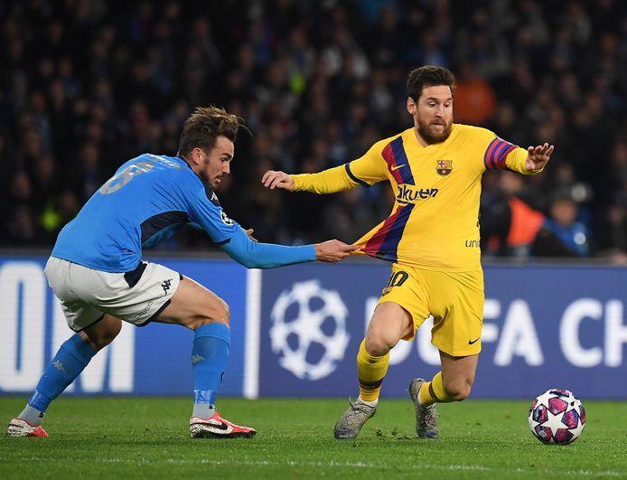 Messi treft vanavond Napoli.