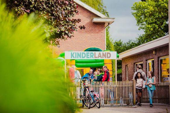 Het festival/buurtfeest heeft ook een eigen Kinderland.
