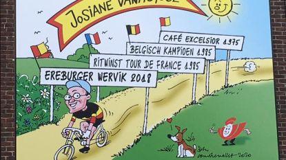 Doek moet ereburger Josiane Vanhuysse herinneren, ontwerp is van ereburger André Nollet