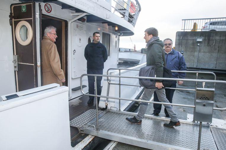 Sinds dit weekend kan je gratis met een boot van Gent naar Terneuzen varen.