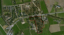 Het terrein van de Fliegerhorst in Teuge vanuit de lucht.