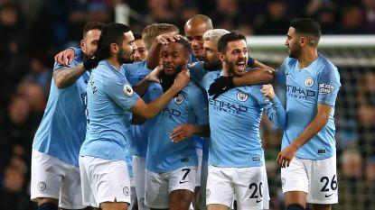 Kompany haalt het van Kabasele: City wint dankzij hattrick Sterling, Guardiola drukt speculaties over vertrek naar Juventus de kop in