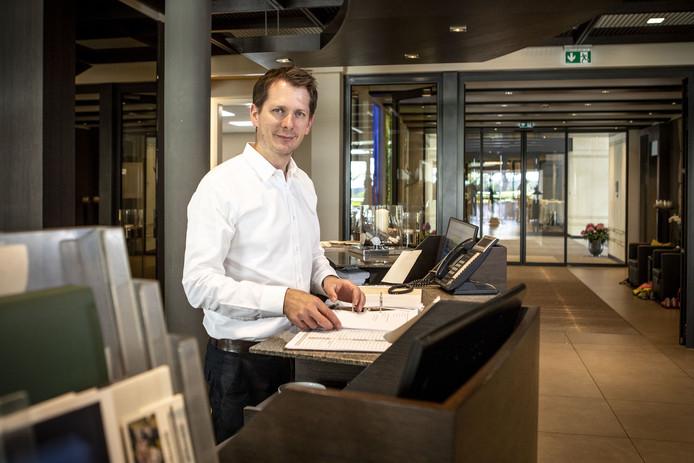 Theo Niehoff (46) ontvangt Heracles al sinds 1997 in hotel Weissenburg.