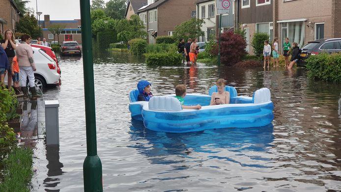 Wateroverlast Chaam