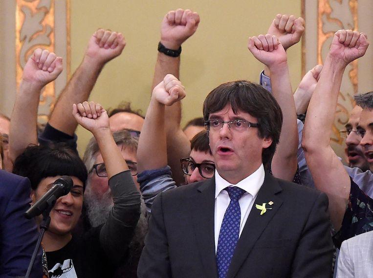 Carles Puigdemont Beeld epa