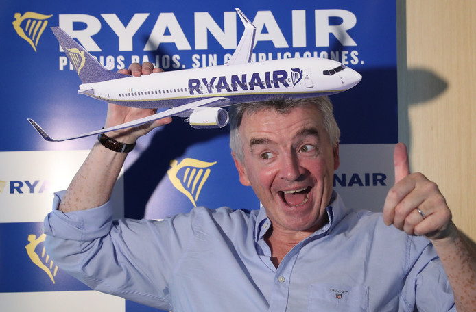 Michael O'Leary, topman Ryanair