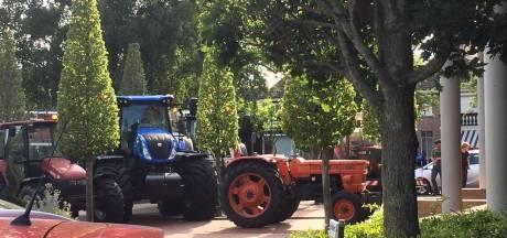 Boeren in Wierden laten zich horen en zien bij discussie over toekomst Wierdense Veld