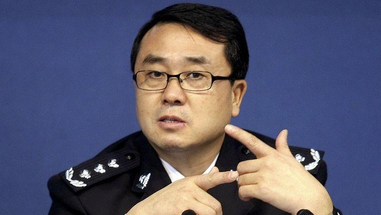 Voormalig politiechef Wang Lijun in 2008. Beeld ap