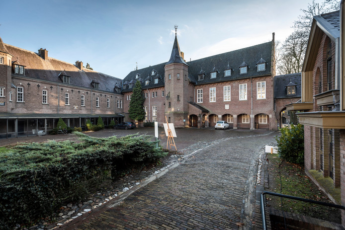 Het kasteel in Gemert, gezien vanaf de binnenplaats.
