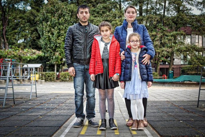 Het gezin Ashugotoyan dreigt uitgezet te worden naar Armenie. Het gezin woont al zo'n negen jaar in Nederland.