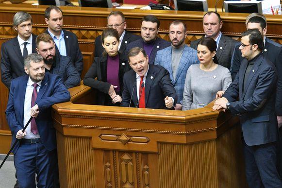 Het Oekraïense parlement stemde vandaag met een grote meerderheid tegen het verlengen van het vriendschapsverdrag.