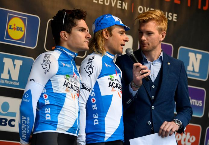Dennis van Winden (midden)