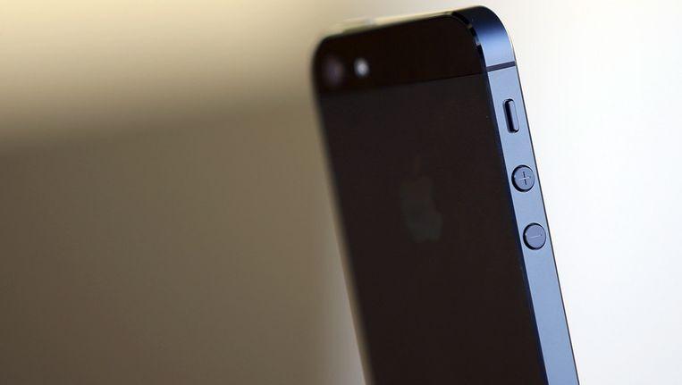 De nieuwe iPhone 5. Beeld afp