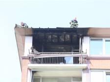 Appartement in Den Bosch volledig uitgebrand