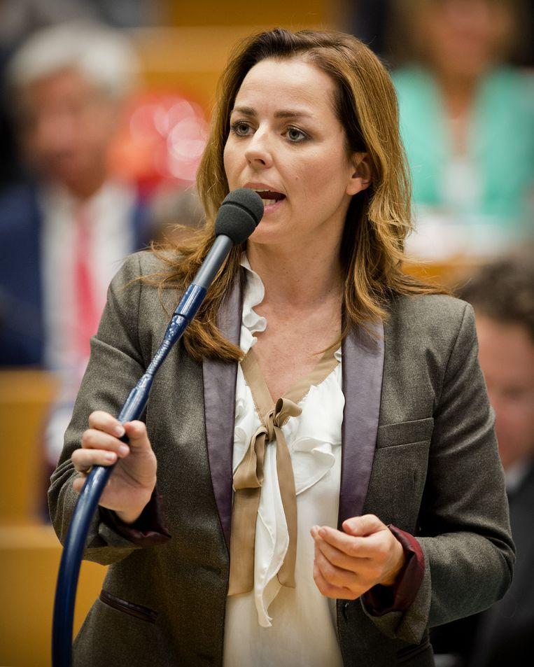 PvdD-leider Marianne Thieme Beeld null