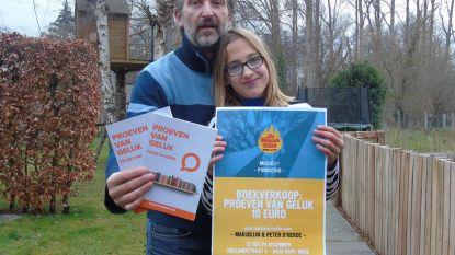 Peter D'Herde steunt – geïnspireerd door ervaring van dochter Marjolijn - kinderen met brandwonden via boekje met columns