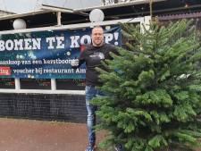 Haags terras omgebouwd tot showroom met kerstbomen: 'We willen niet stilzitten'