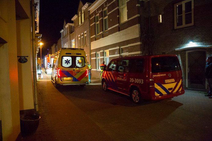 Veel rook in appartement Oudenbosch