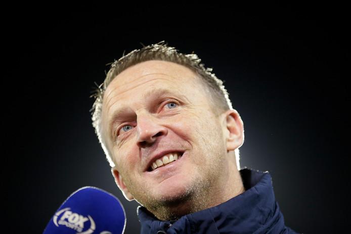 Coach John van den Brom.
