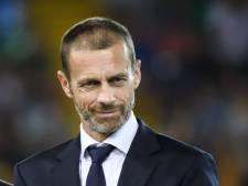 Ceferin herhaalt: Nederlandse clubs riskeren uitsluiting