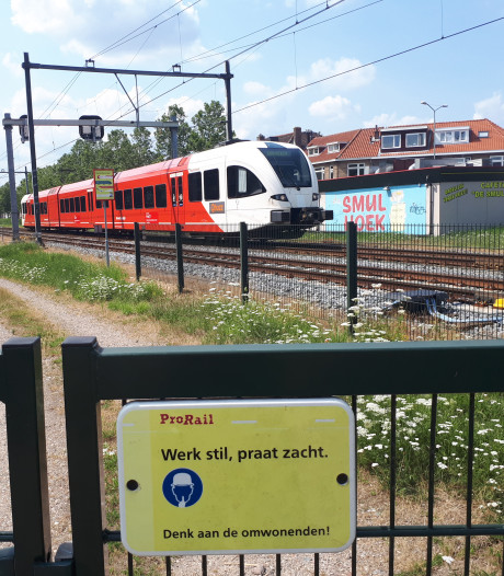 Treinen MerwedeLingelijn zijn jarenlang illegaal geparkeerd in Dordrecht