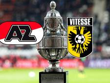 LIVE: Vitesse jaagt in bekerfinale met AZ op eerste hoofdprijs
