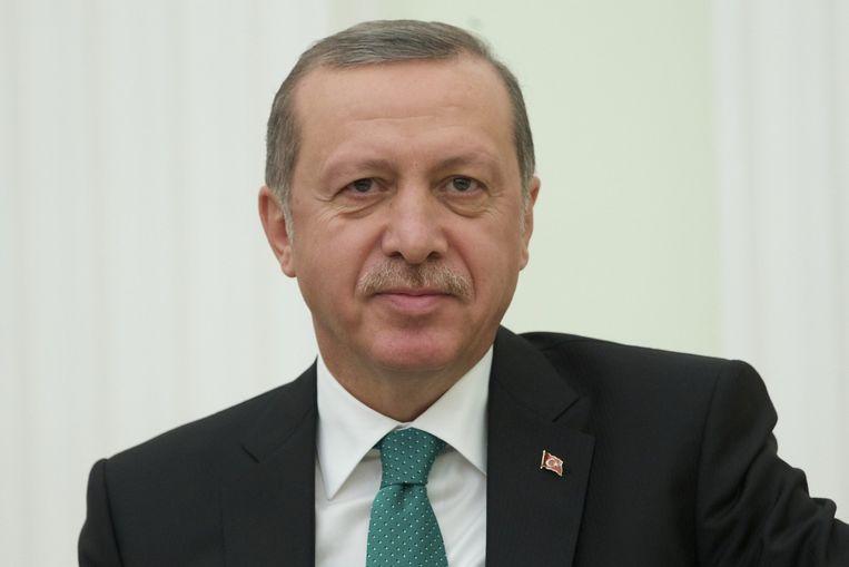 Turkije president Recep Tayyip Erdogan. Beeld anp