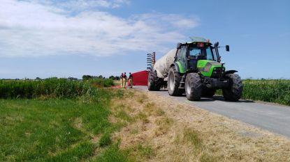 Fietstocht loopt tragisch af in Diksmuide: vrouw (82) wil tractor laten passeren, maar wordt overreden
