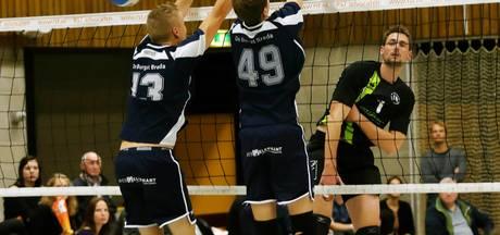 De Burgst trekt zwaarbevochten West-Brabantse volleybalderby naar zich toe