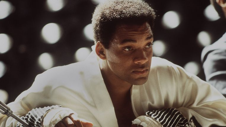 Will Smith als Muhammad Ali in de film 'Ali' (2001) Beeld null