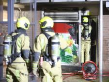 Woningen ontruimd na brand in supermarkt Tanthof