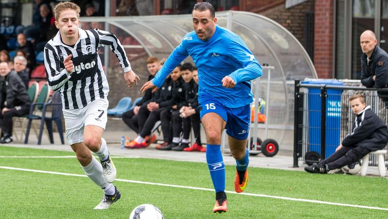 Chakib Tayeb van De Dijk maakte een van de doelpunten Beeld Pro Shots/ David van Haren