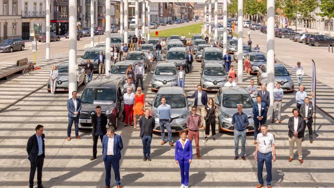 Deelauto's vooral populair bij gemeentepersoneel Lierde en Maarkedal