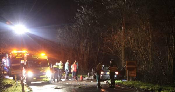 Dode en gewonden bij auto-ongeluk op A30.